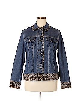 Coldwater Creek Denim Jacket Size 18 (Plus)
