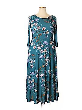 Lbisse Casual Dress Size 1X (Plus)