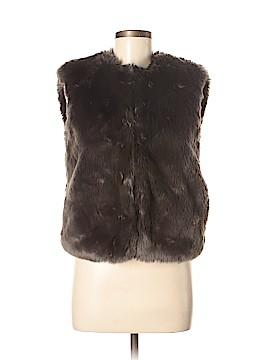 Barneys New York CO-OP Faux Fur Vest Size XS