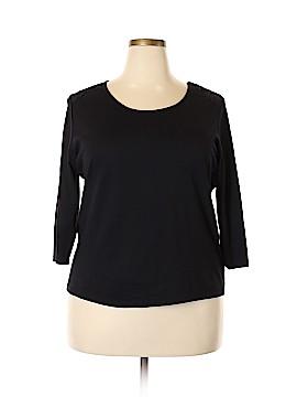 Talbots 3/4 Sleeve Top Size 2X (Plus)
