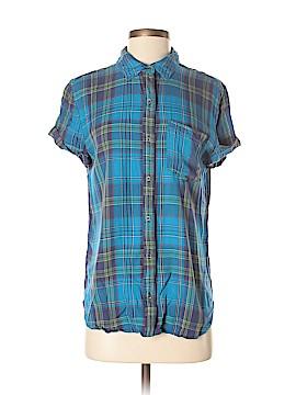Treasure & Bond Short Sleeve Button-Down Shirt Size XS