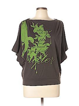 Drifter 3/4 Sleeve Top Size L