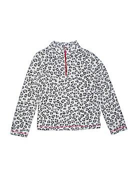 Danskin Now Fleece Jacket Size 10 - 12