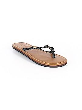 Ocean Minded Flip Flops Size 8