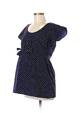 Rumor Has It! - Maternity Short Sleeve Blouse Size M (Maternity)
