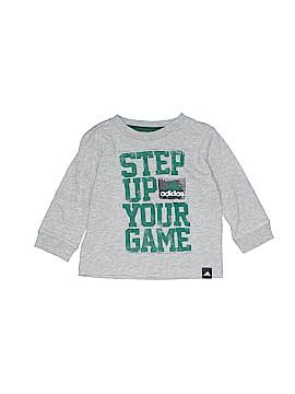 Adidas Long Sleeve T-Shirt Size 12 mo