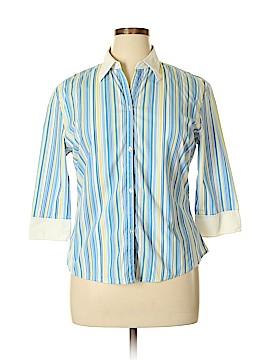 DCC 3/4 Sleeve Button-Down Shirt Size XL