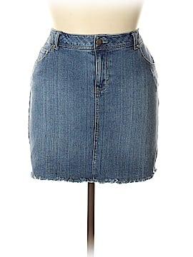 Pure Energy Denim Skirt Size 14