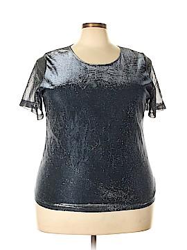 Kathie Lee Short Sleeve Top Size 20 (Plus)