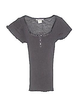 Gerard Darel Short Sleeve Silk Top Size 1
