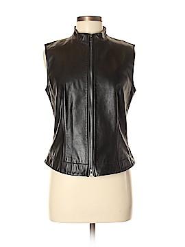 Nine West Leather Jacket Size 8