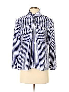 AKA New York Long Sleeve Button-Down Shirt Size S