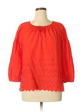 Madewell 3/4 Sleeve Top Size XL