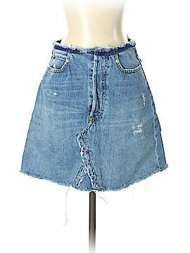 Zara W&B Collection Denim Skirt Size S