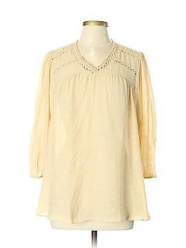John Paul Richard 3/4 Sleeve Blouse Size L