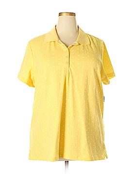 Basic Editions Short Sleeve Polo Size 2X (Plus)