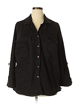 Jessica London Denim Jacket Size 18 (Plus)