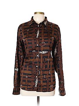 Lauren by Ralph Lauren Long Sleeve Button-Down Shirt Size XL