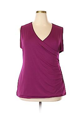 Soft Surroundings Short Sleeve Top Size 2X (Plus)