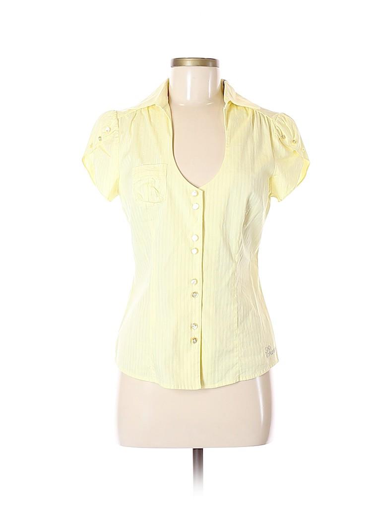ed4b77d270b3 Guess Jeans Shirt Striped Yellow | Huston Fislar Photography
