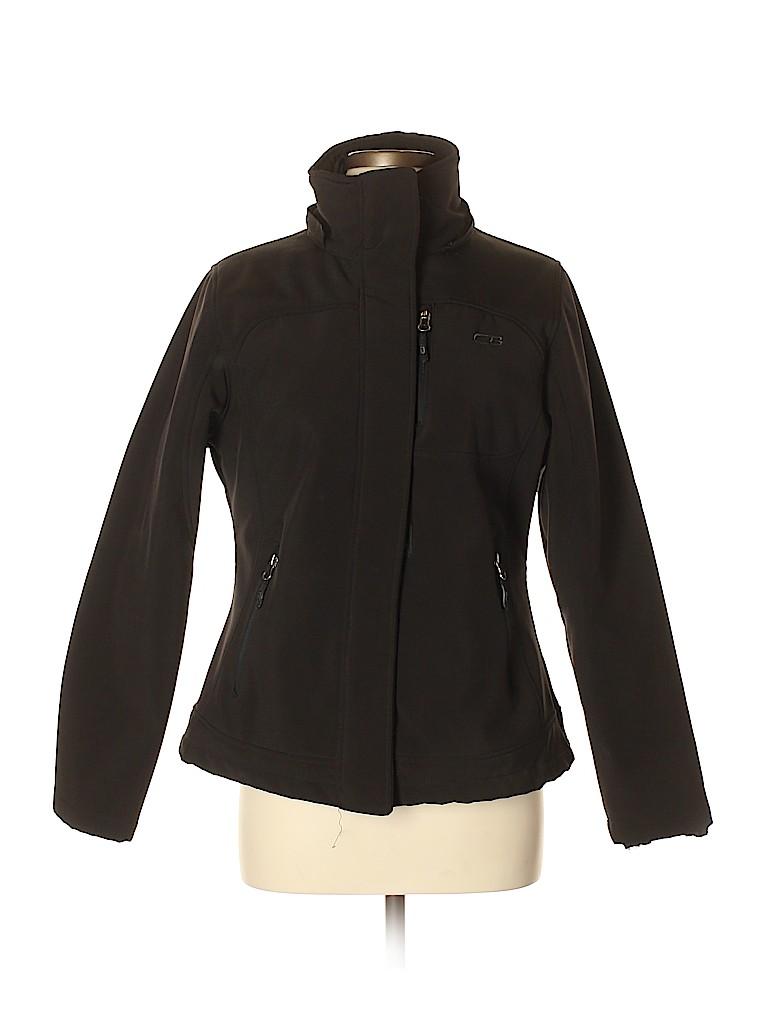 957901e62e2 CB 100% Polyester Solid Black Jacket Size M - 76% off