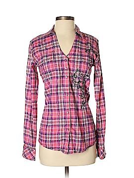Rock 47 Long Sleeve Button-Down Shirt Size S
