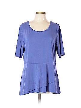 Isaac Mizrahi LIVE! Short Sleeve Blouse Size XL