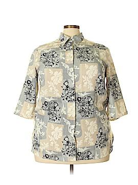 Maggie Barnes 3/4 Sleeve Blouse Size 18W (Plus)