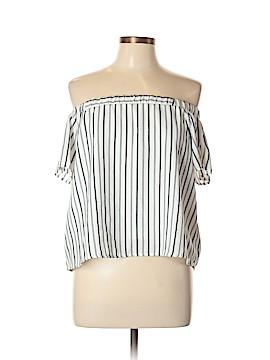 Doe & Rae Short Sleeve Blouse Size L