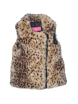 Catherine Malandrino Faux Fur Vest Size 4