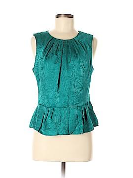 Trina Turk Sleeveless Silk Top Size 8
