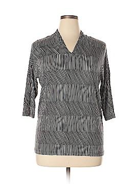Marimekko 3/4 Sleeve Top Size L
