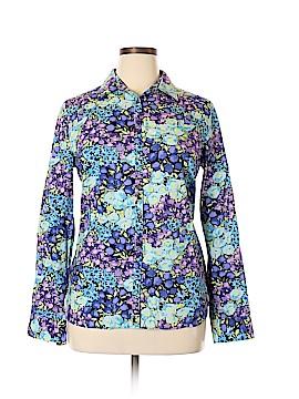 Talbots Long Sleeve Button-Down Shirt Size 16