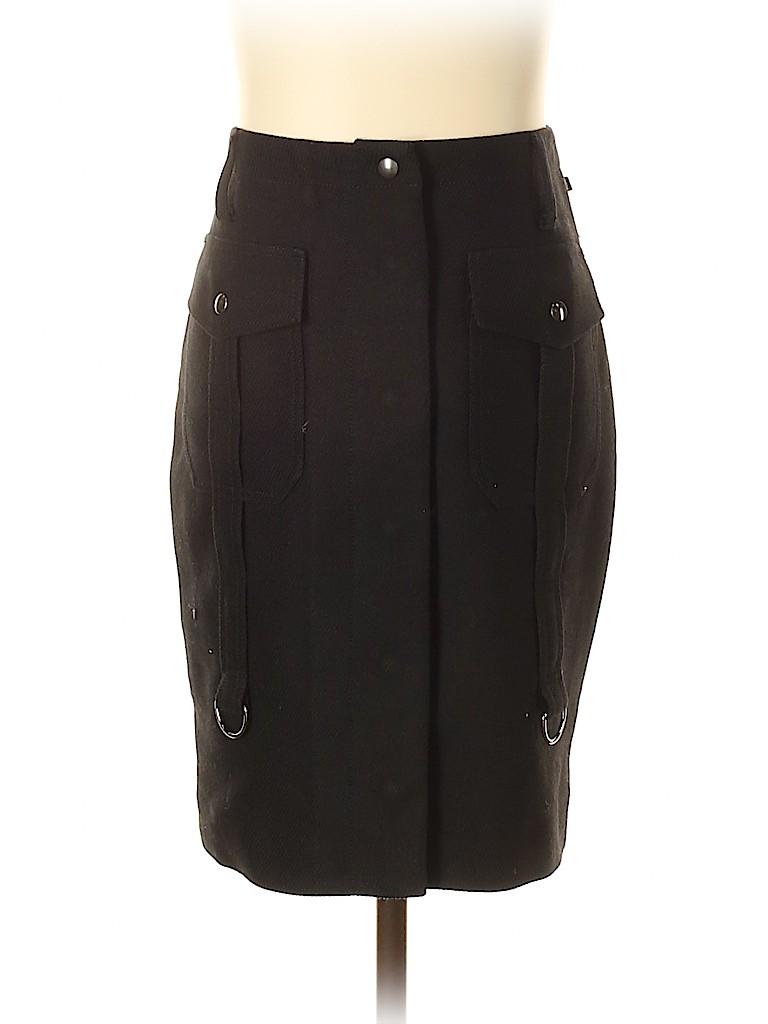 Ferre Women Wool Skirt Size 40 (IT)