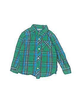 Arizona Jean Company Long Sleeve Button-Down Shirt Size 12-24 mo