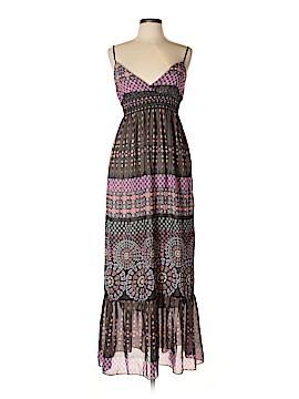 Blue Sketch Casual Dress Size L
