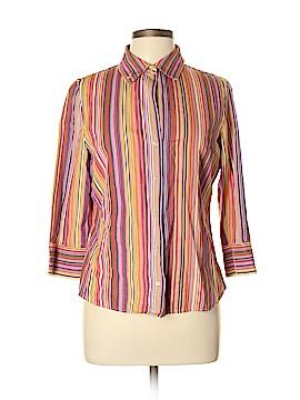 Geoffrey Beene Sport Long Sleeve Button-Down Shirt Size 10