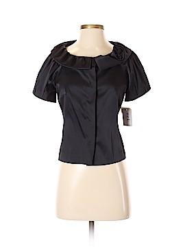 ECI Short Sleeve Blouse Size 8 (Petite)