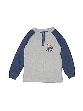 Lucky Brand Long Sleeve Henley Size 6