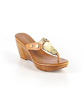 Mila Paoli Wedges Size 9 1/2