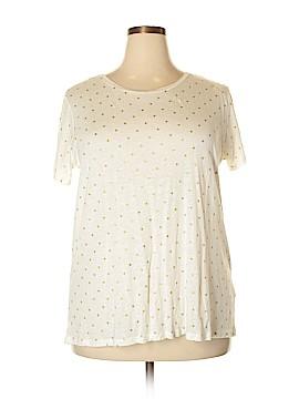 Dantelle Short Sleeve T-Shirt Size 2X (Plus)