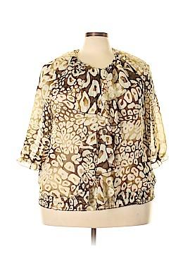 Erica Brooke 3/4 Sleeve Blouse Size 20 (Plus)