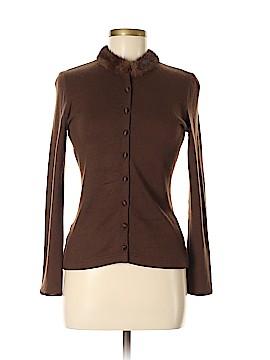Heidi Weisel Silk Cardigan Size 6