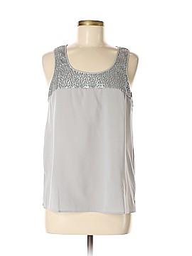 The White Company Sleeveless Silk Top Size 8