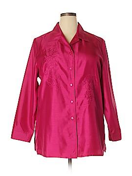 Allison Daley Long Sleeve Blouse Size 18w (Plus)