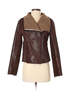 Mystree Faux Leather Jacket Size S