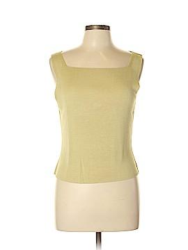 Brooks Brothers Sleeveless Silk Top Size L