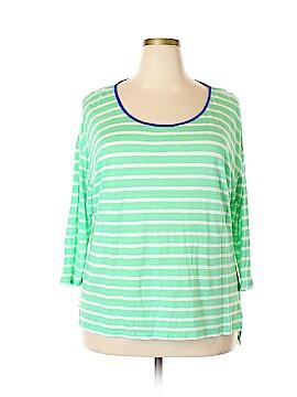 Talbots 3/4 Sleeve T-Shirt Size 1X (Plus)