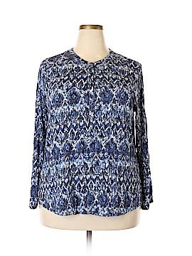 Verve Ami Long Sleeve Top Size 1X (Plus)