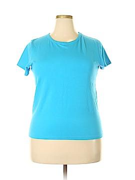 Delicates Short Sleeve T-Shirt Size 1X (Plus)